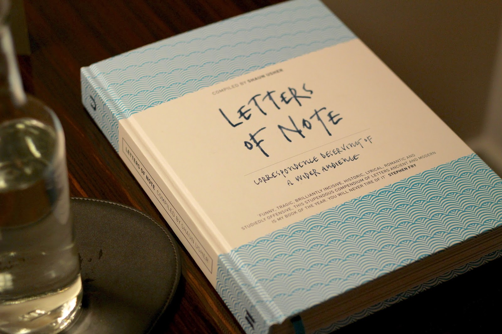 bedside reading letters of note hotel