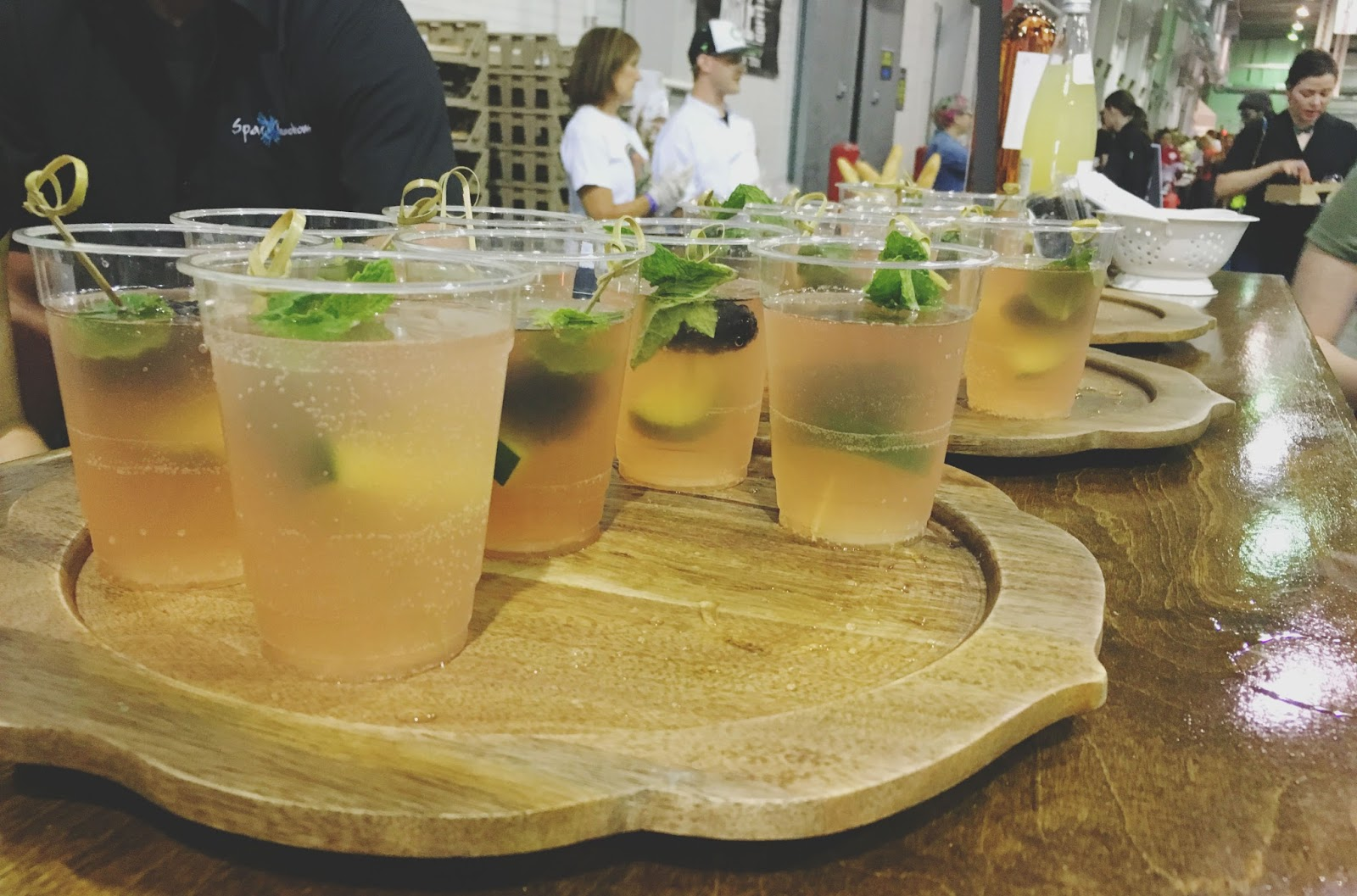wine spritzer from Whole Foods at the 2016 Houston Press Menu of Menus Extravaganza