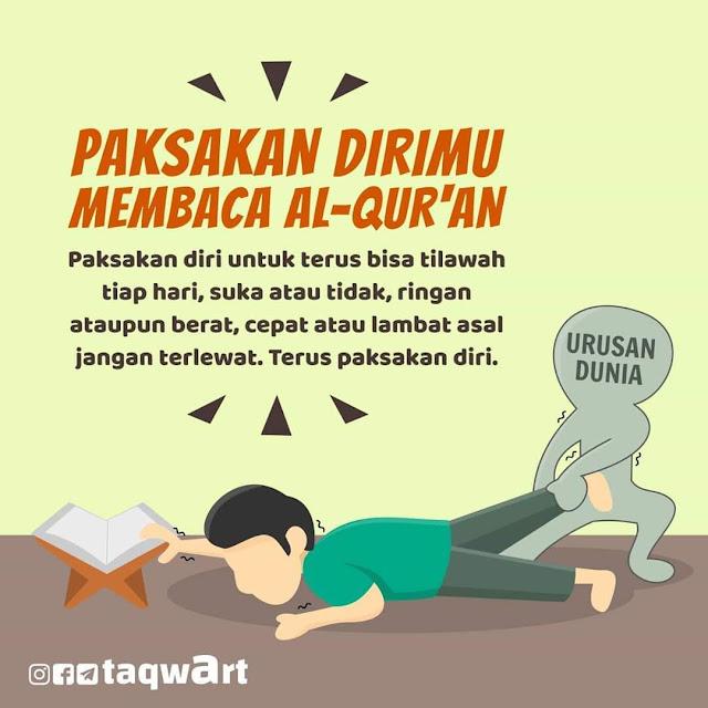 4 Tahap Membaca Al Quran