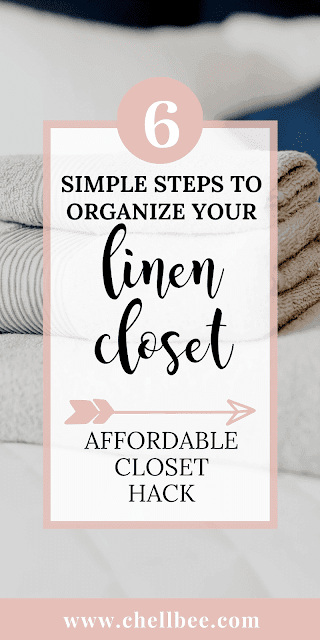 Linen Closet Organization | Learn how to organize your linen closet and make better use of this space. These tips are perfect if you have found yourself in need of additional storage space. closet organization ideas | organization hacks | organize closet #organizing #minimalism #declutter #purge #simplify