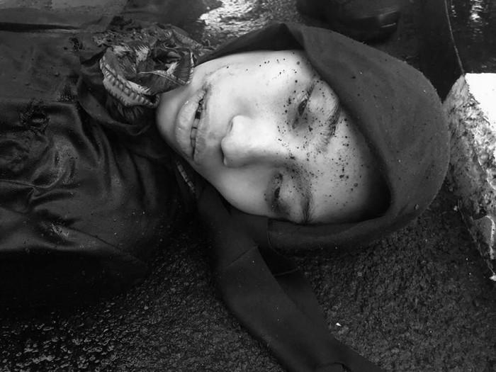 Ini Penampakan Perempuan Berpistol Penyerang Mabes Polri, Matanya Terbuka