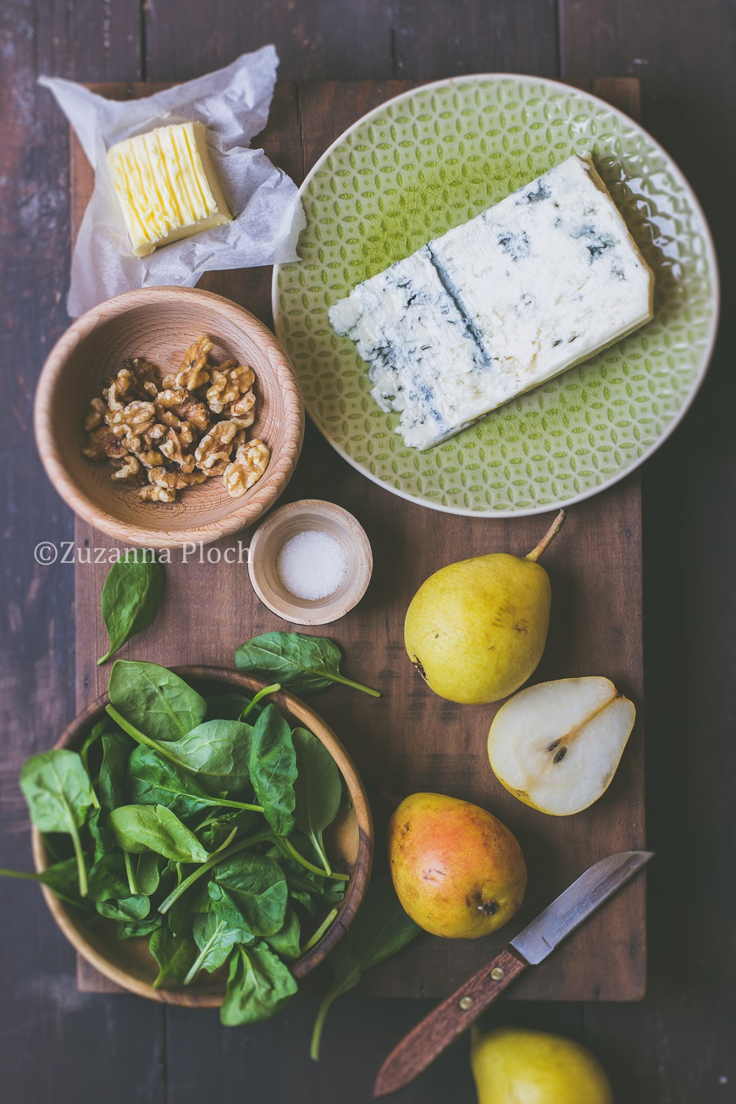 Autumn salad - Food photography by Zuzanna Ploch, fotografia kulinarna