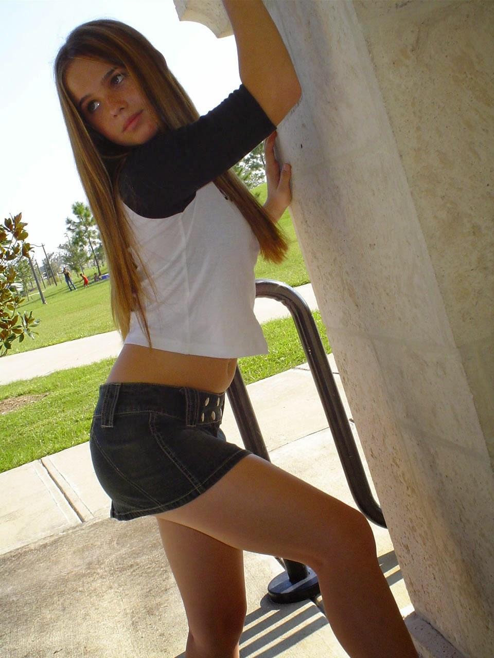 Belinda mnn teen model think, that