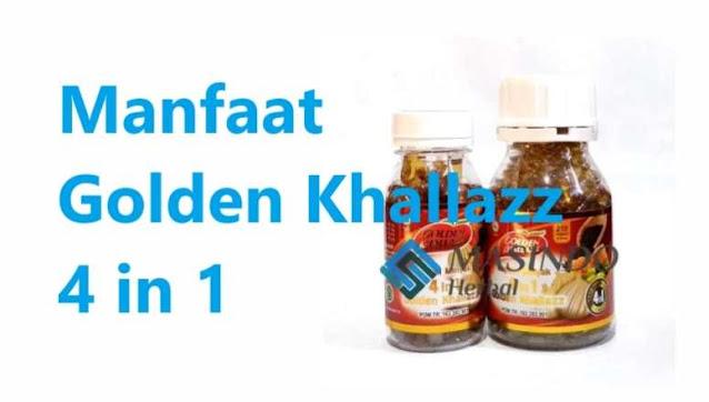 Manfaat Kapsul Minyak 4 in 1 Golden Khallazz