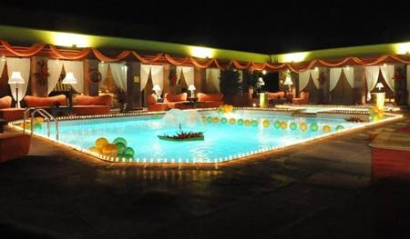 Swimming Pool in Serena Hotel Faisalabad Pakistan