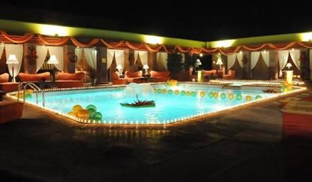 Swimming Pool in Serena Hotel Faisalabad Pakistan