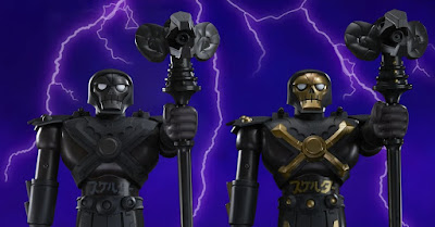 Masters of the Universe Skeletor Shogun Masters Mech Variant Figures by Mattel Creations