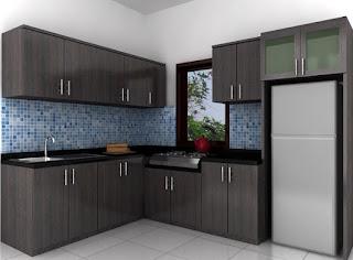 Desain Dapur Minimalis 3×3 Sederhana