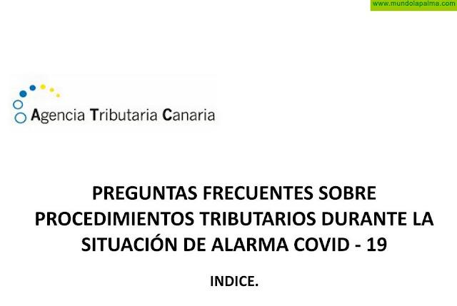 La ATC resuelve dudas tributarias durante el estado de alarma por el COVID-19