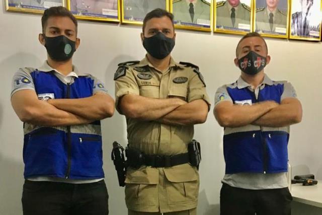 Comando do 9° BPM recebe visita dos agentes da ATR em Araguatins