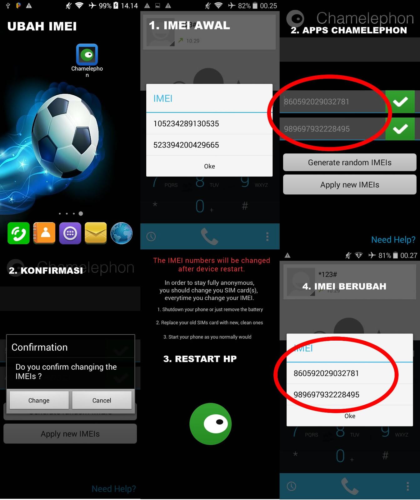 Cara Mudah Mengganti IMEI di Android Tanpa Komputer PC