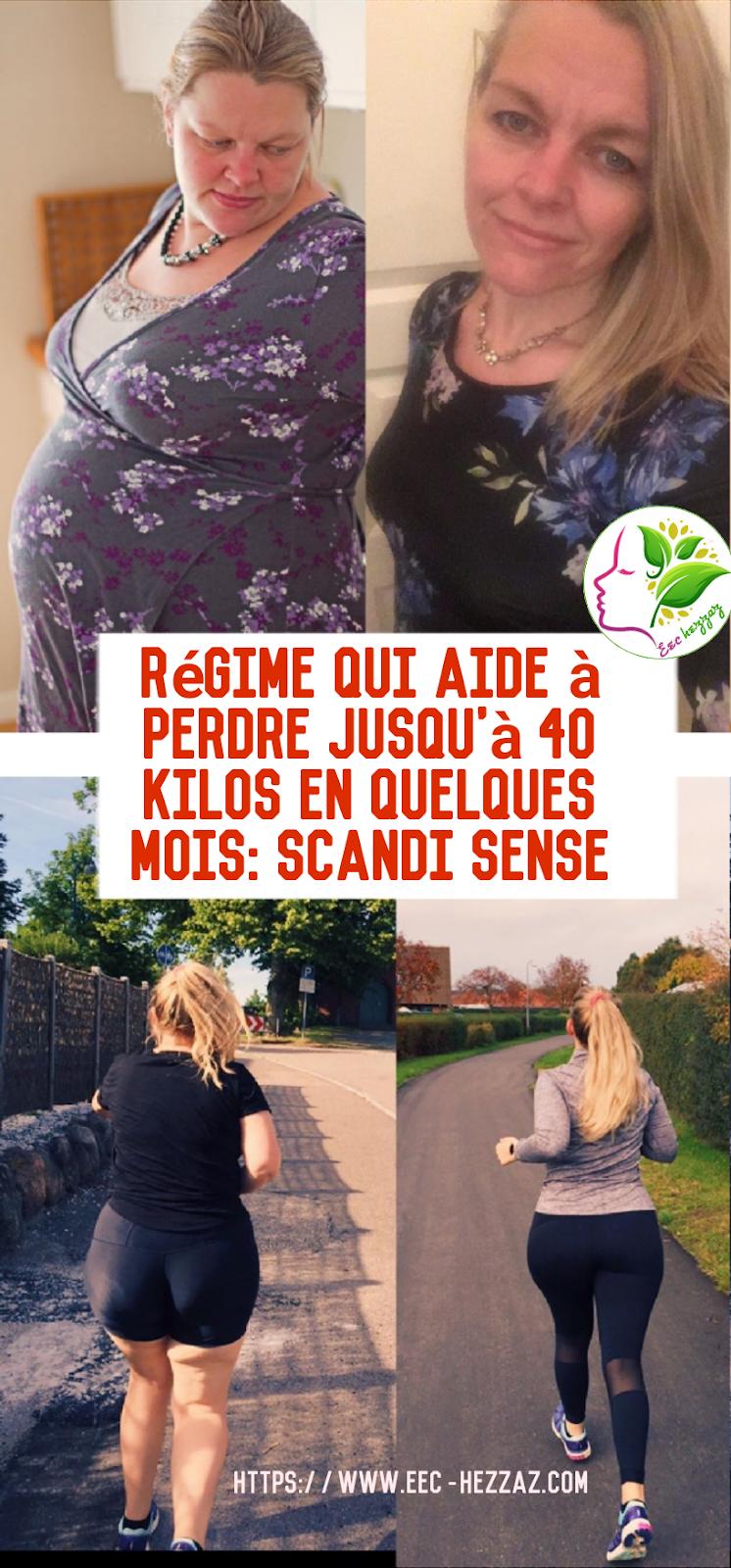 Régime qui aide à perdre jusqu'à 40 kilos en quelques mois: Scandi Sense