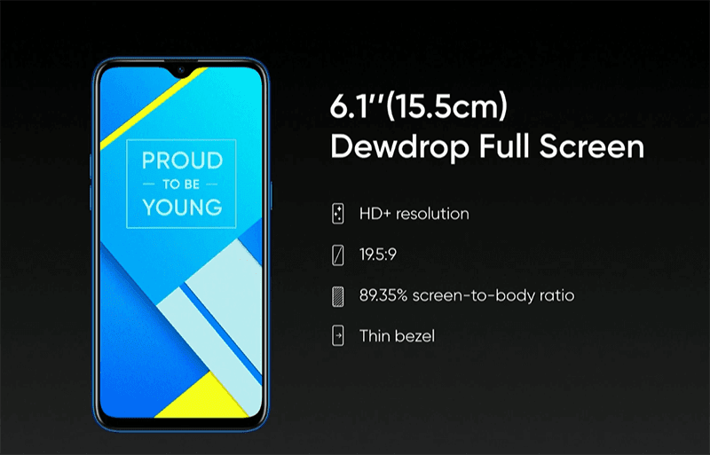 It has an 89.36 percent screen-to-body ratio