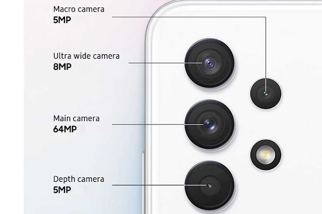 هاتف Samsung Galaxy A32  ثمن الهاتف في المغرب زائد المعلومات والخصائص التقنة للهاتف