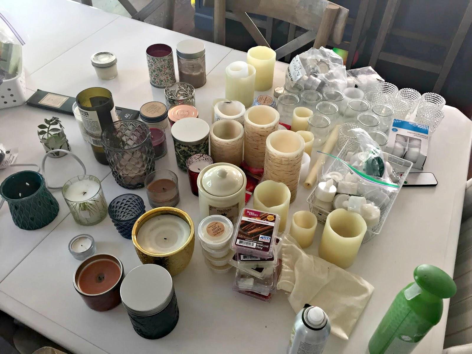 Purging items Konmari