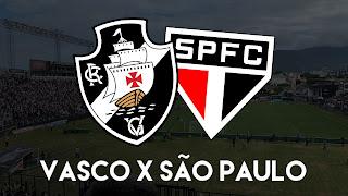 OUÇA A PARTIDA: Vasco x São Paulo ao vivo pelo canal do Papo na Colina