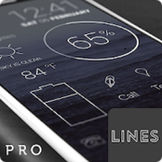 Lines – Icon Pack  Pro v3.1.8 APK