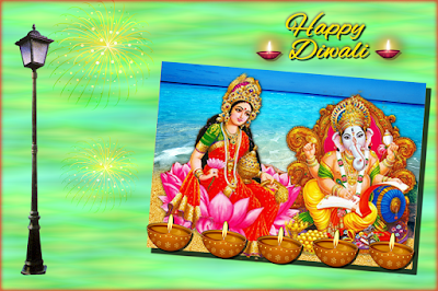 DIWALI 3D GREETING CARD 2019