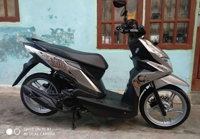 Modifikasi Simple Honda Beat Street