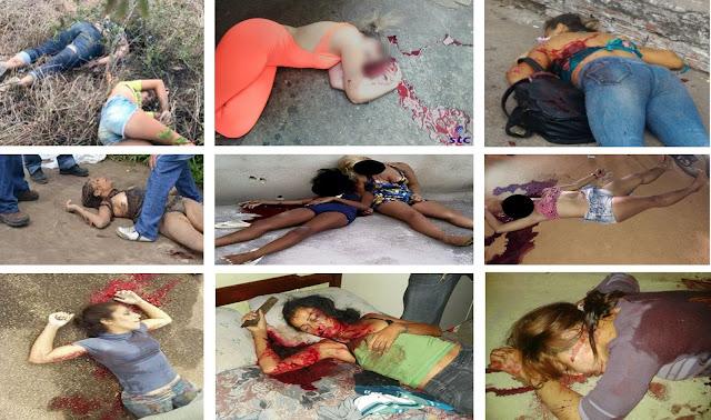 Mulheres do Brasil continuam sofrendo execução sumária e os três poderes ficam presos ao discurso dos direitos humanos dos assassinos delas