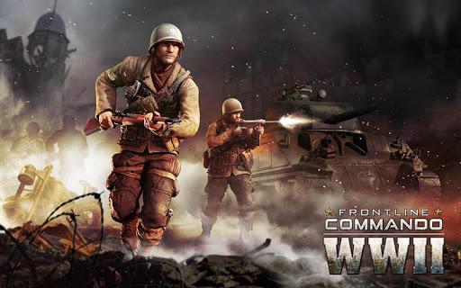 تحميل لعبة FRONTLINE COMMANDO WW2 مهكرة ألماس, ذخيرة, نقود لا نهاية أخر اصدار
