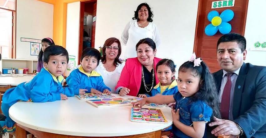 DRELM: Más de 230 niños de inicial se benefician con moderna infraestructura en Manchay - www.drelm.gob.pe