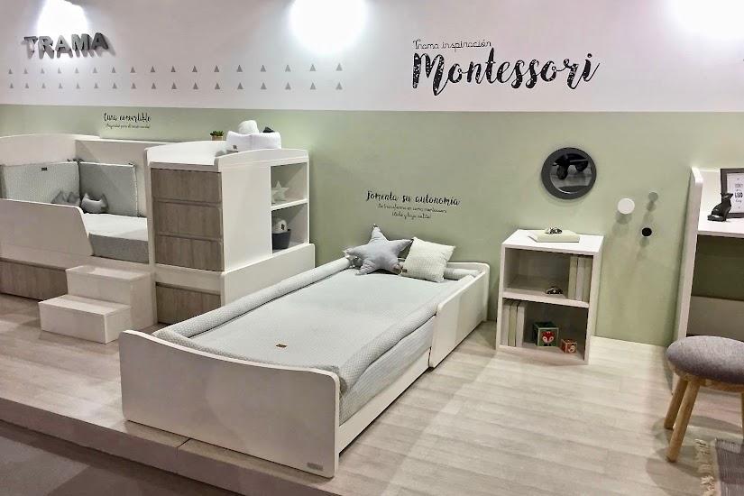 Maxicuna convertible de Trama de inspiración Montessori