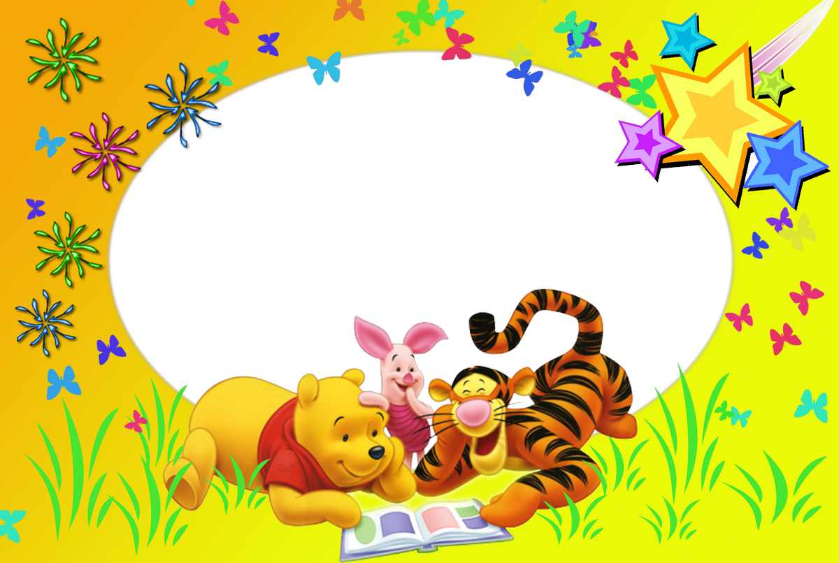 Marcos De Fotos De Winnie De Pooh Y Tiger Marcos Gratis