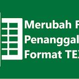 Cara Merubah Format Tanggal di Excel Menjadi Text
