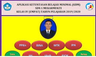 Aplikasi KKM Kurikulum 2013 Kelas 4 SD TP 2019/2020 - http://www.librarypendidikan.com/
