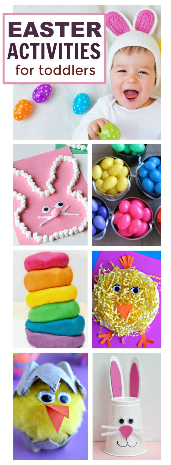 30 EASTER ACTIVITIES FOR TODDLERS.  These are ADORABLE! #eastercrafts #easteractivitiesforkids #kidsactivities