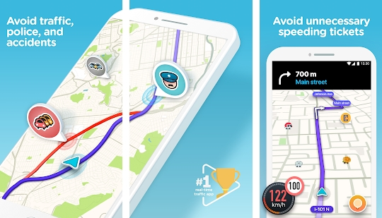Aplikasi Waze - GPS, Maps, Traffic Alerts & Live Navigation