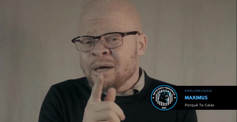 """O rapper angolano Maximus lança o clipe """"Porquê te Calas"""""""