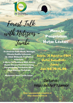 forest talk with netizens jambi