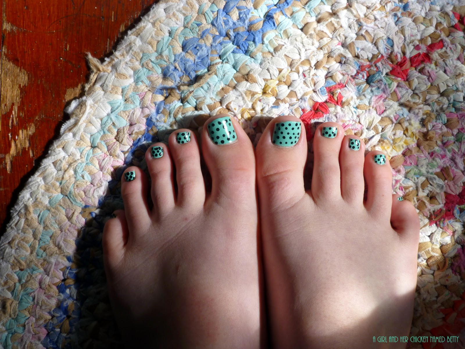 I've started to post more on Instagram, and I hesitated before uploading a  pic of my newly polished toes. I rarely ever see pics of toenail art, ...