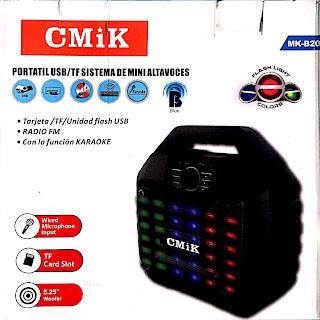 casse bluetooth cmik mk-b20