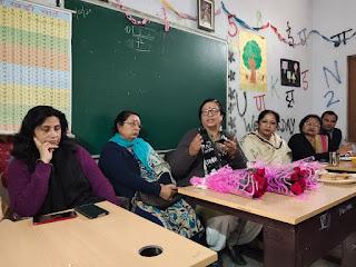 बोर्ड परीक्षाओं को लेकर विधायक सीमा त्रिखा ने अपने क्षेत्र के सभी सरकारी स्कूलों के हैडमास्टरों, प्रिंसिपलों की स्कूल में बैठक ली