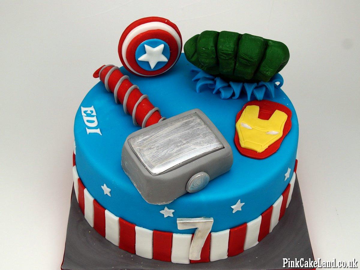 Avengers Birthday Cake London