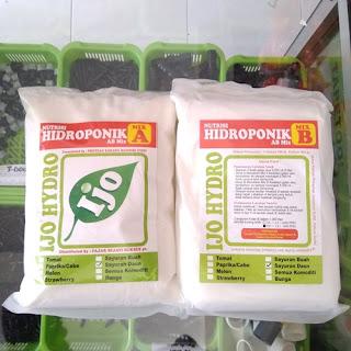 Nutrisi Hidroponik AB Mix Hydromax Sayur Daun