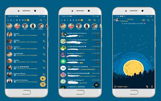Moon 3 Theme For YOWhatsApp & Fouad WhatsApp By Leidiane