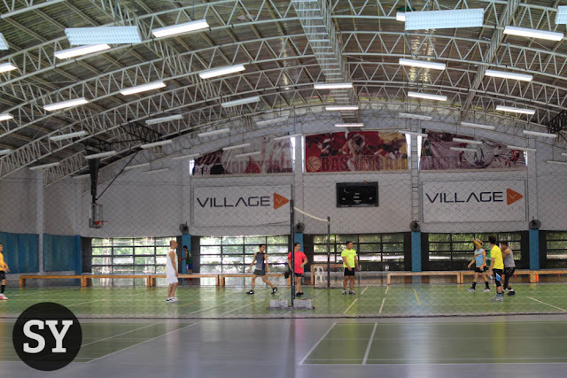 Volleyball Court of The Village Sports Club