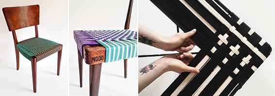 Sedute design by NODO - Clara Arpini