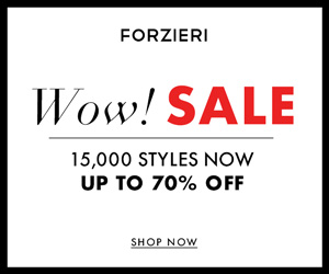 Get $ 50 off fashion by FORZIERI coupon