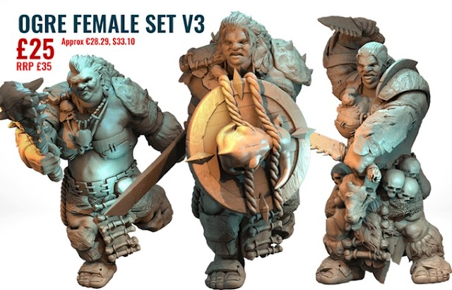 Final Goals of the Ogres Kickstarter about to be Revealed