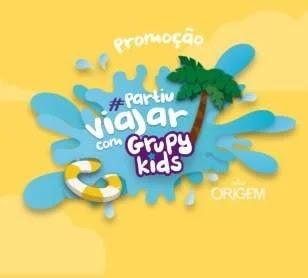 Cadastrar Promoção Grupy Kids Partiu Viajar Fortaleza Beach Park e Prêmios
