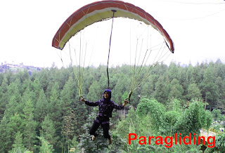 Paragliding Dago Dreampark