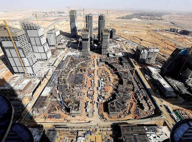 Nova capital do Egito a China põe um pé perto do Canal de Suez