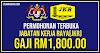 Jawatan Kosong Jabatan Kerja Raya (JKR) 2021 – Gaji RM1,800.00