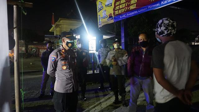 Dalam Rangka Mendukung PPKM Darurat Sabhara Polresta Banyumas Gencarkan Patroli Dan Sispamkota