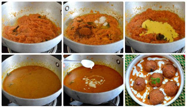 Restaurant style Malai Kofta curry/Paneer Kofta